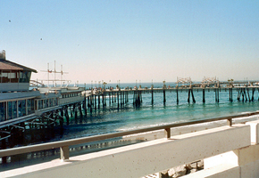 FISHING OFF REDONDO BEACH PIER